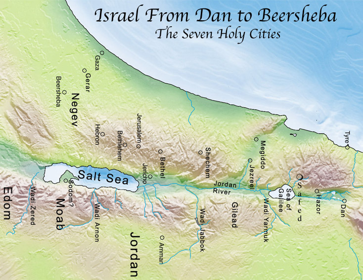 Map of Israel2
